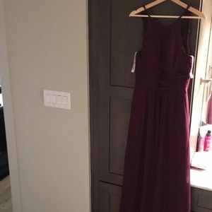 Grape JJs house bridesmaid dress, Size 8